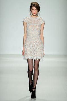 Tadashi white dresses