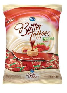 Arcor Butter Toffees Candy