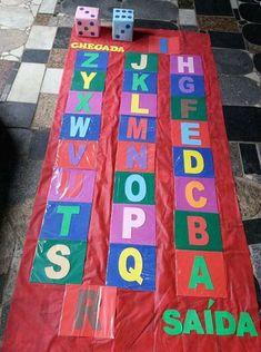 Trilha do alfabeto: Alfabetização de forma lúdica. — Só Escola