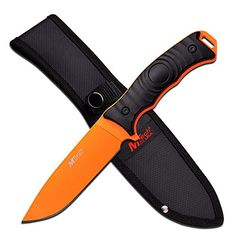 Master Cutlery MTech Fixed Blade Knife with 5 Blade Orange 10 -- For more information, visit image link.Note:It is affiliate link to Amazon. #HuntItRightly