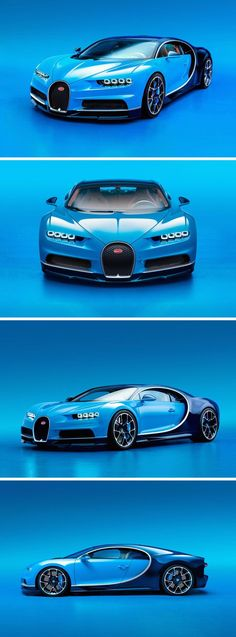 There's finally an all-new #Bugatti. It's called the #Chiron and for only $2.6M you get the world's fastest coupe, which is limited to 261 mph.
