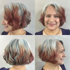Try On Hairstyles 80 Best Modern Haircuts And Hairstyles For Women Over 50  Pinterest