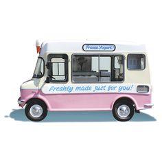 Mr Whippy Frozen Joghurt in Berlin Froyo Truck