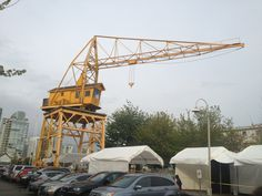 OMG… I am in love with this old crane and I don't care if the whole world knows!  Marry me!