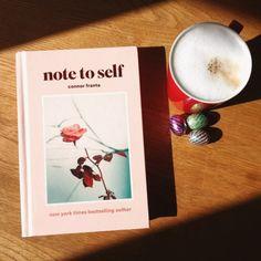 Note to self book. Pinterest: fofobarazi