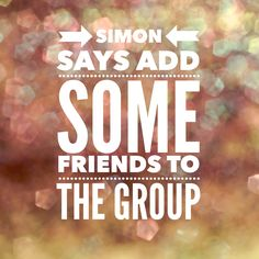 Simon says add some friends to the group Facebook Group Games, Facebook Party, For Facebook, Facebook Business, Facebook Engagement Posts, Social Media Engagement, Engagement Meme, Engagement Ideas, Star Citizen