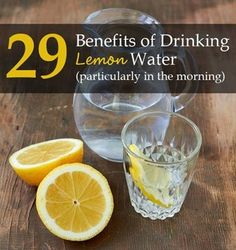 29 reasons why you should drink lemon water (preferably in the morning). Find out exactly the health benefits and how to prepare this morning drink