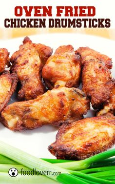 The best oven fried chicken recipe       20 to 24 chicken drumsticks     1/2 cup all-purpose flour     2 1/2 teaspoons salt     1/2 teaspoon ground pepper     2 teaspoons paprika     1 teaspoon curry powder     2 teaspoons poultry seasoning     1/2 cup butter
