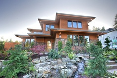 "2012 Street of Dreams - ""The Oregon Dream"" - modern - entry - portland - Stone Bridge Homes NW"