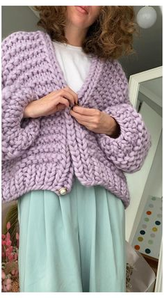 Cable Knit Cardigan, Crochet Cardigan, Knit Jacket, Knit Crochet, Chunky Cardigan Outfit, Chunky Knit Scarves, Chunky Cable Knit Sweater, Chunky Crochet, Crochet Clothes