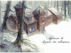 "Microïds - Benoit Sokal's ""Syberia II"" Artwork: Sketches / Concept Art"