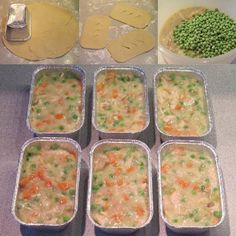 Make-Ahead Mini Chicken Pot Pies...100's of the BEST Freezer Meals!