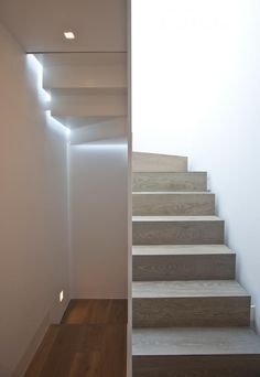 A simple journey up and down the stairs becomes an experiential journey each step of the way.
