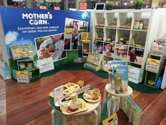 Mother's Corn was at Kids in Style trade show to meet retailers in VIC! AUG 1-4