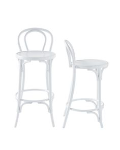So classic, clean and fresh. These Thonet inspired chairs go with any style.