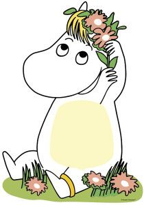 moominsnorkmaiden from moominfans.com.  Moominfans.com is my 500th Pinterest follower!  That makes me very happy!  I love Moomins!