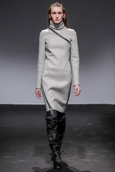 Nicolas Andreas Taralis Fall 2013: Nice lines, voluminous boots.