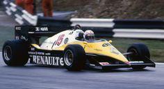 Alain Prost, Renault RE40, 1983 European Grand Prix