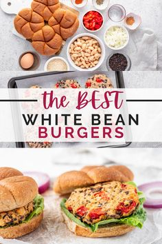 This Bean Burger Recipe is a game changer! It's full of flavor and high in protein and fiber – making it a delicious and nutritious burger patty alternative. Vegetarian friendly and quick and easy to make!