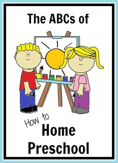 The ABCs of How to Home Preschool -- a week-long series on the In Lieu of Preschool blog going on now! :)