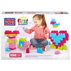 Mega Bloks First Builders Imagination Building - Pink