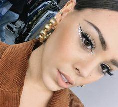 makeup for the Retro Makeup, Glam Makeup, Makeup Inspo, Makeup Inspiration, Makeup Tips, Beauty Makeup, Party Eye Makeup, Grunge Style, Soft Grunge