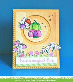 the Lawn Fawn blog: A Fairy Friends Circle Slider Card by Lynnette!