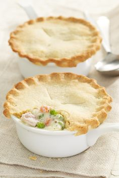Turkey Potpie using greek yogurt - carrots, potatoes, peas, celery. Not bad at all, but need to compensate for sourness of yogurt.