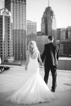 Downtown Detroit Wedding Detroit Wedding Photographer Michigan Wedding Photographer Niki Marie Photography