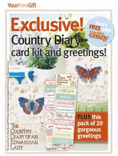 Country Diary Butterflies Cross Stitch Crazy Issue 180 September 2013 Saved