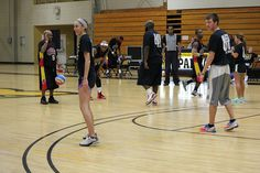 The Harlem Wizards came to play at Manchester University's Stauffer-Wolfe Arena against Manchester students, staff, and faculty.