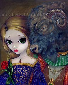 Beauty and the Beast by jasminetoad.deviantart.com on @DeviantArt