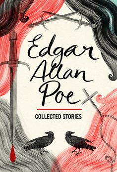 """Collected Stories"" by Edgar Allan Poe on Textbooks.com #textbooks #bookdesign"