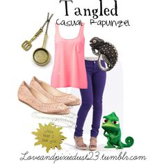 Tangled by loveandpixiedust on Polyvore