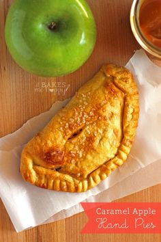 Caramel Apple Hand Pies | White Lights on Wednesday