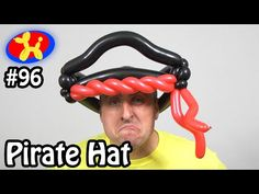 Pirate Hat - Balloon Animal Lessons #96 - YouTube