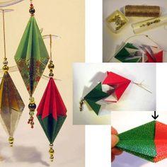 Suspension traditionnelle origami