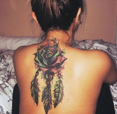 21 ideas tattoo feather color tat for 2019 Dope Tattoos, Girly Tattoos, Body Art Tattoos, Small Tattoos, Sleeve Tattoos, Tatoos, Backpiece Tattoo, Tattoo Henna, Feather Tattoos
