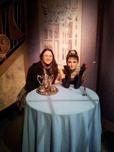 Wax Audrey and I at Madam Tussauds!