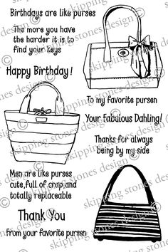 purse stamp set...must have