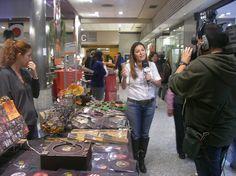 VII Salón del Chocolate de Madrid en Moda Shopping. @chocoadictos Todo tipo de actividades, exposición, charlas, talleres y venta de chocolate. Puedes visitar la página web oficial del Salón del Chocolate de Madrid en Moda Shopping en http://www.salondelchocolate.com