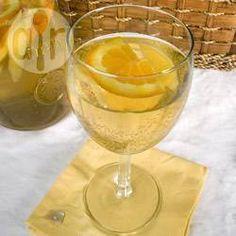 Photo recette : Sangria blanche
