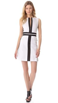 Obsessed. Hate that it's final sale and cannot be returned. McQ - Alexander McQueen Tailored Dress