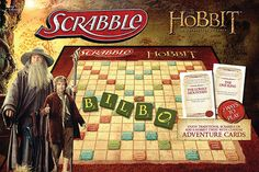 Challenge your friends to this enchanted edition of Scrabble: Hobbit style. This Board Game is filled with unique and fun term to show off your Middle Earth knowledge.
