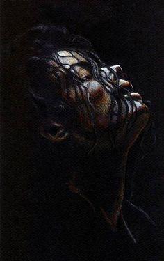 Michael Jackson Bliss Print by Cecile Duteil