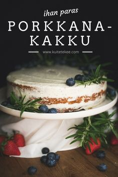 Baking Recipes, Cake Recipes, Something Sweet, Desert Recipes, No Bake Cake, Sweet Tooth, Deserts, Food And Drink, Sweets