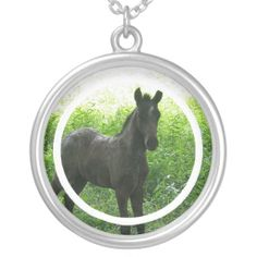 Shop Dream Horse Necklace created by HorseStall. Personalize it with photos & text or purchase as is! Horse Necklace, Black Felt, Baby Photos, Fashion Necklace, Necklaces, Horses, Beautiful, Sparkles, Passion