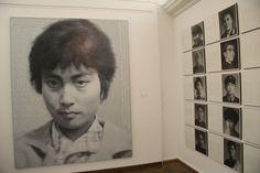 CULTURAL REVOLUTION PORTRAITS -- by artist Xu Weixin (b1958, Urumqi, Xinijiang Proovince, China)