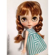 OOAK Custom Blythe Doll fake  Erica by MissLittleBlythe on Etsy
