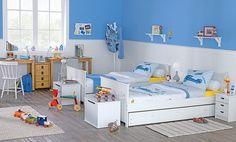 Quero esse paran os gemeos    Tok Quarto infantil  Para meninos aventureiros, crie um quarto aconchegante e ao mesmo tempo radical!